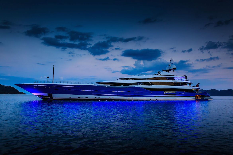 Madame GU Yacht Feadship
