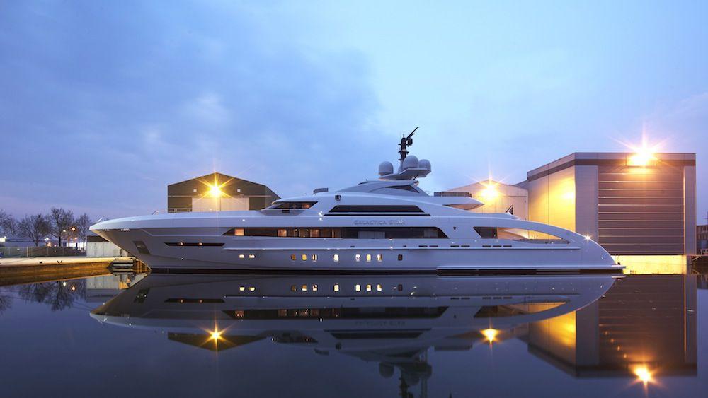 Galactica Star Yacht Heesen Yachts