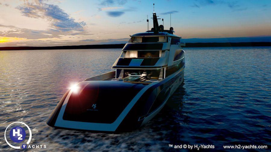 Hydrogen Yacht H2 Yachts