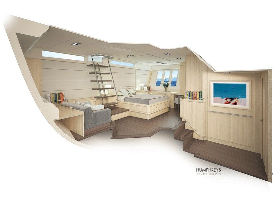 Oyster 115 Interior Owner Cabin