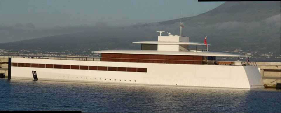 Steve Jobs Yacht Feadship Philippe Starck