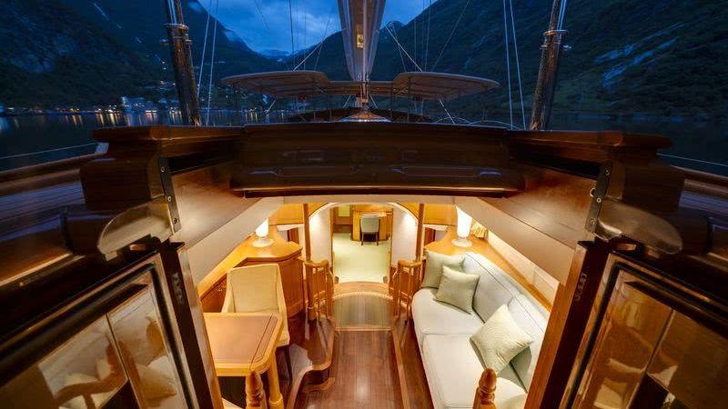 Wisp Yacht Interior Royal Huisman