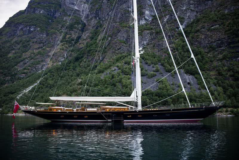 Wisp Yacht Royal Huisman Sailing Yachts