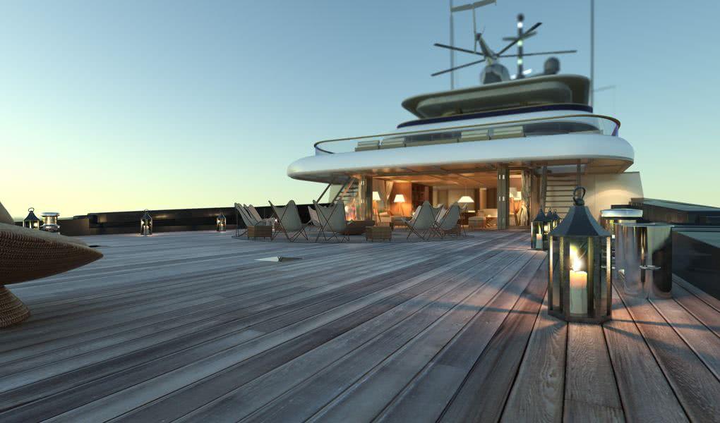 X-Ballet Yacht 90m Pastrovich Studio