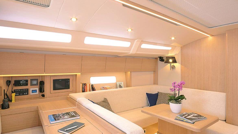 Euphoria 54 Interior Sailing Yacht
