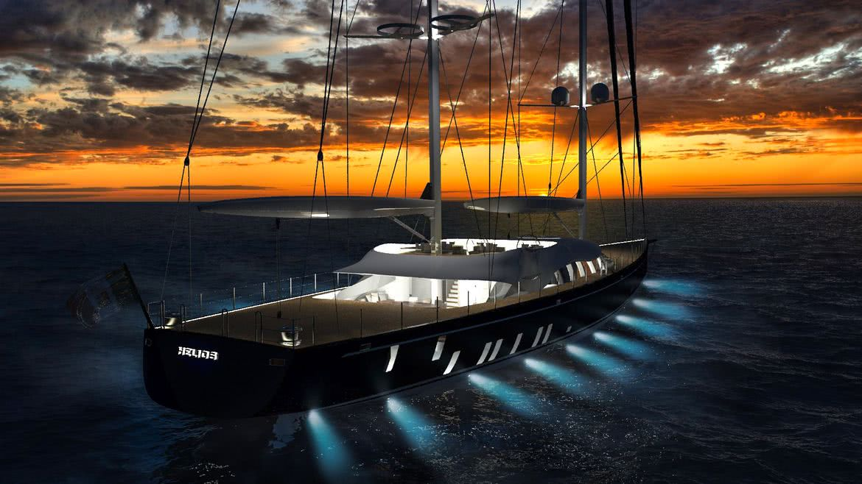 Helios Solar Sails Sailing Yacht