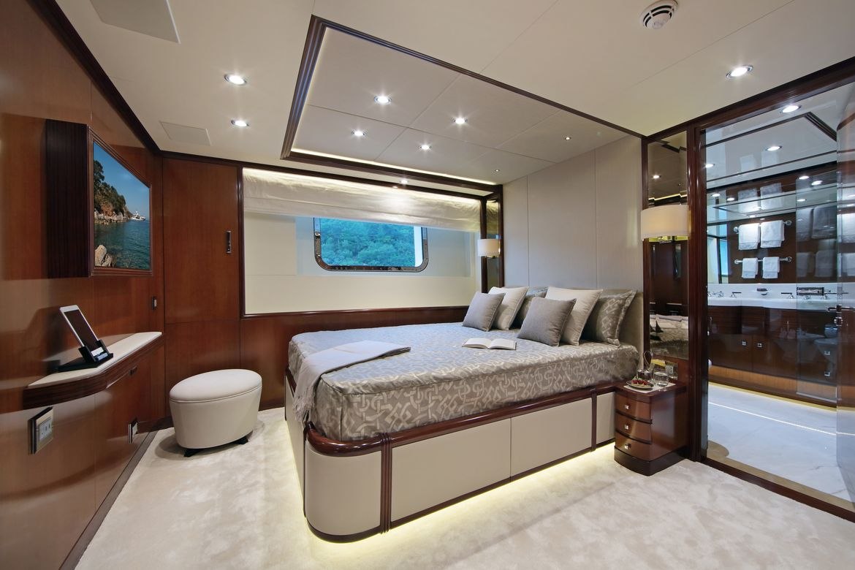 Vica Yacht Interior Benetti Yachts