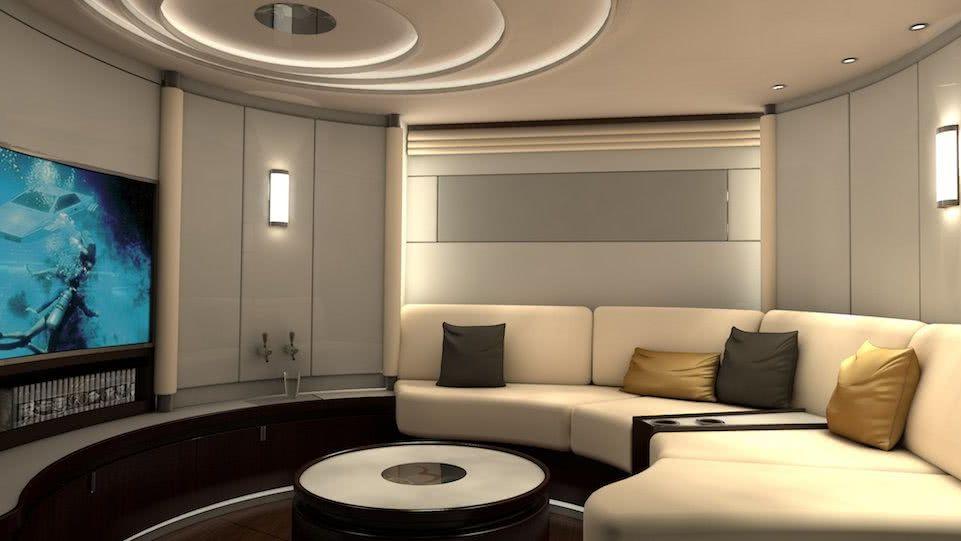 Dahm 120 Interior Cinema beiderbeck designs
