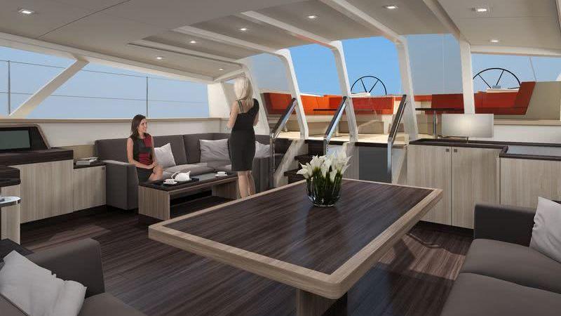Jongert 3200P Deck Salon