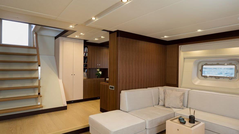 Sea Eagle Yacht Interior Royal Huisman