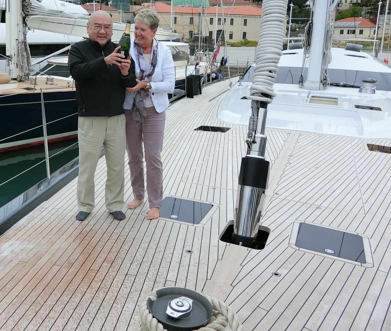 Sea Eagle Yacht Owner Dr. Samuel YinRoyal Huisman