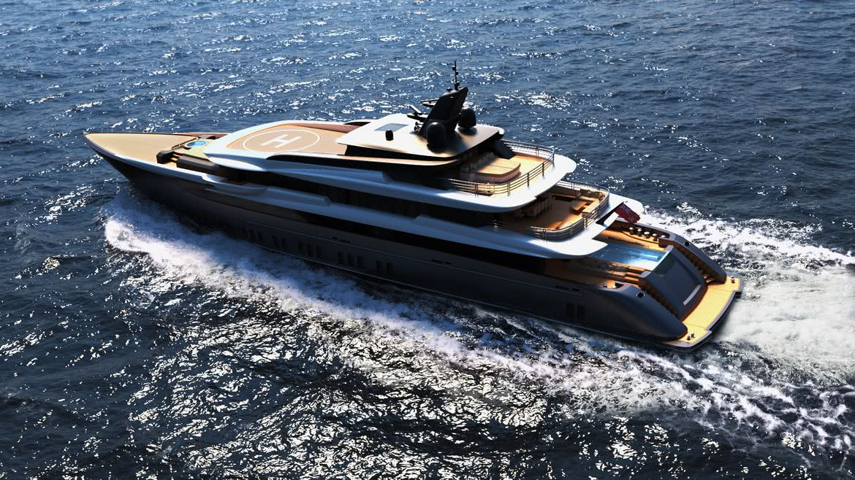 F60 Motor Yacht Design Marco Ferrari Alberto Franchi