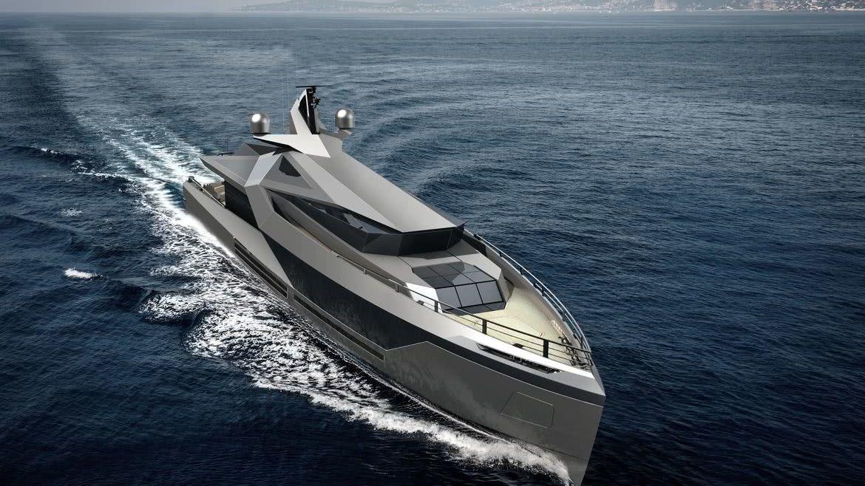 Stella Red Yacht Design