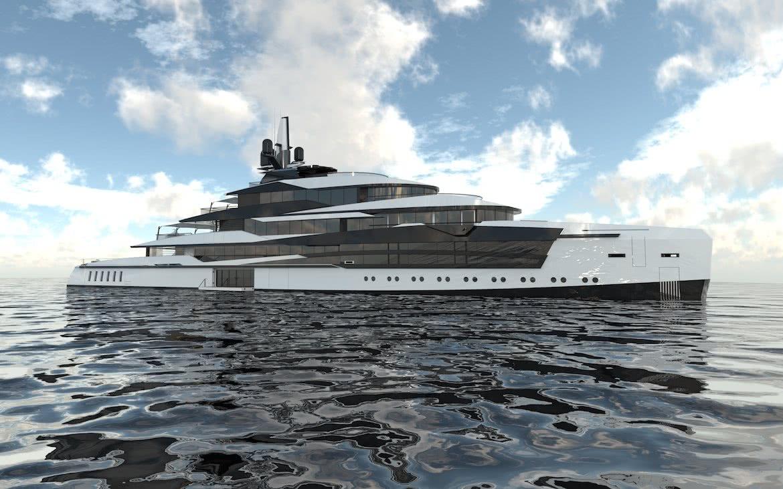Motor Yacht Design Victory of Atlantic