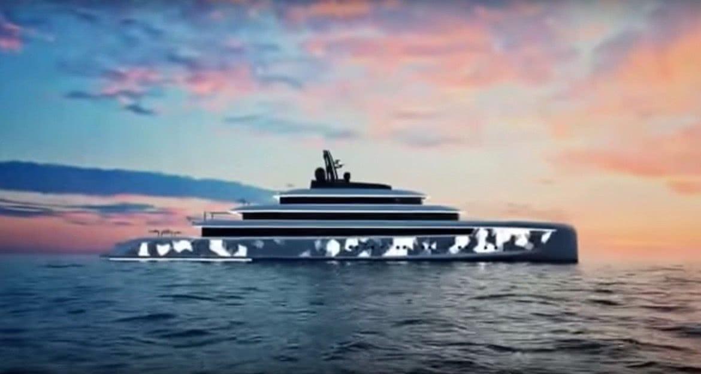 Moonstone 90m Motor Yacht Concept Van Geest Design