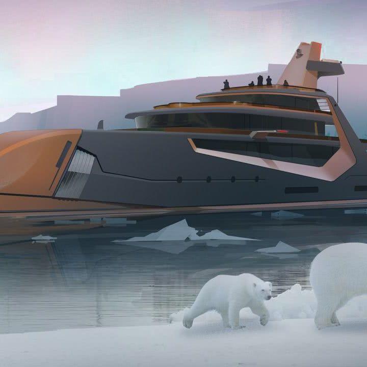 Henry Ward Design 66m Explorer Yacht