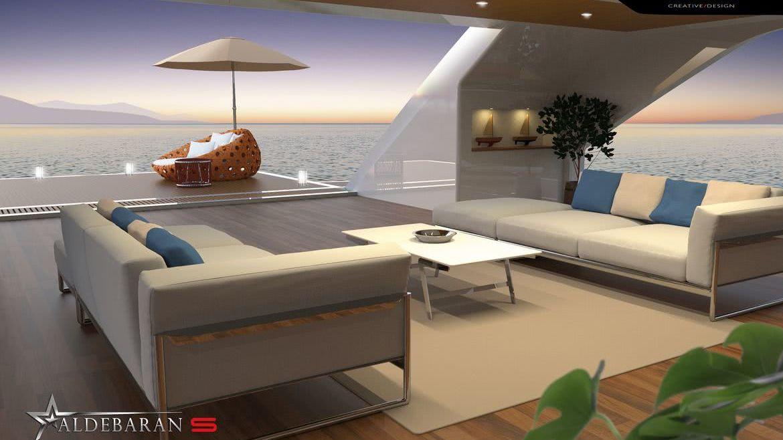 Aldebaran S Motor Yacht Luciano Facchini Beach Club