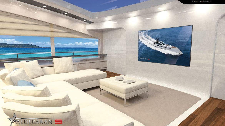 Aldebaran S Motor Yacht Luciano Facchini Interior