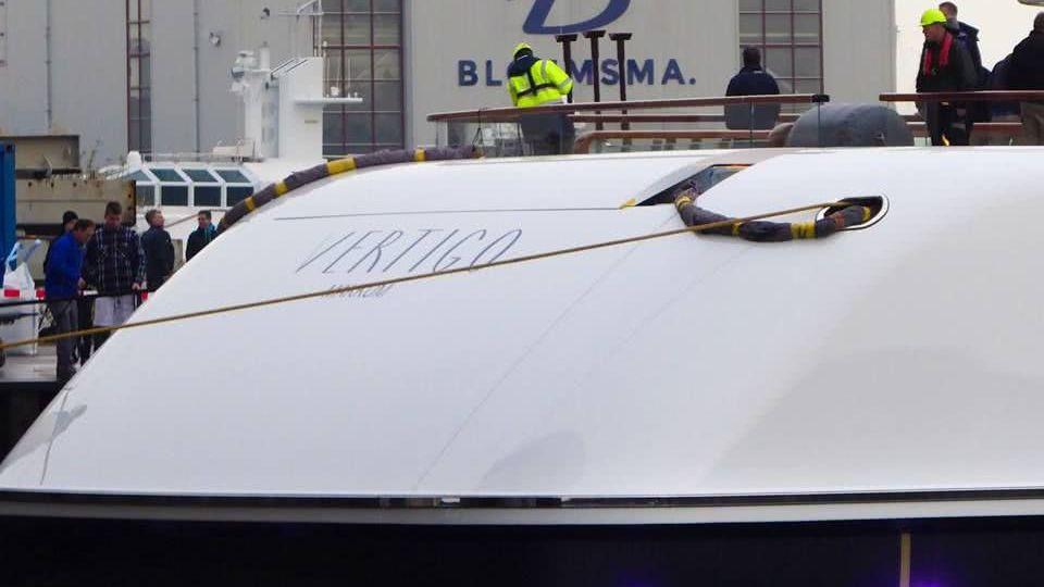 Vertigo Yacht Feadship