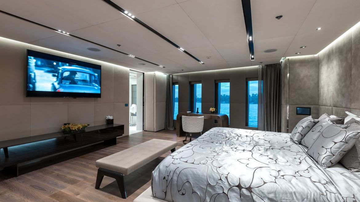Ouranos Yacht Admiral Yachts Interior