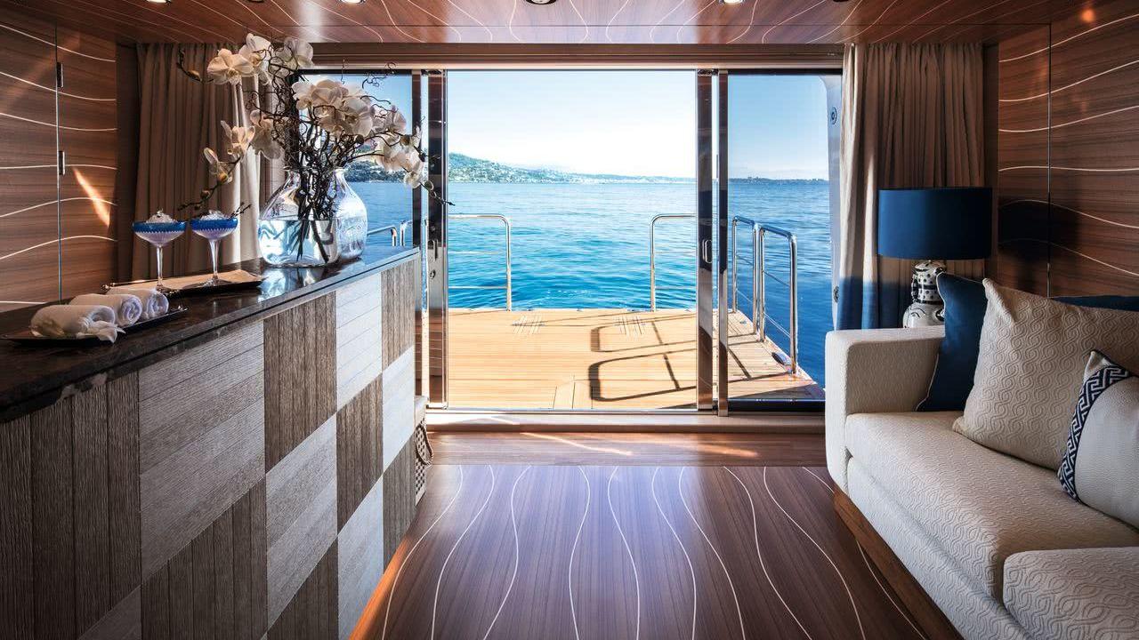Odyssey Yacht CRN Interior