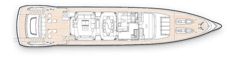 Jetsetter Yacht Dynamiq Yachts Interior