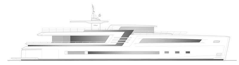 Couach 38m Lounge Collection Motor Yacht General Arrangement