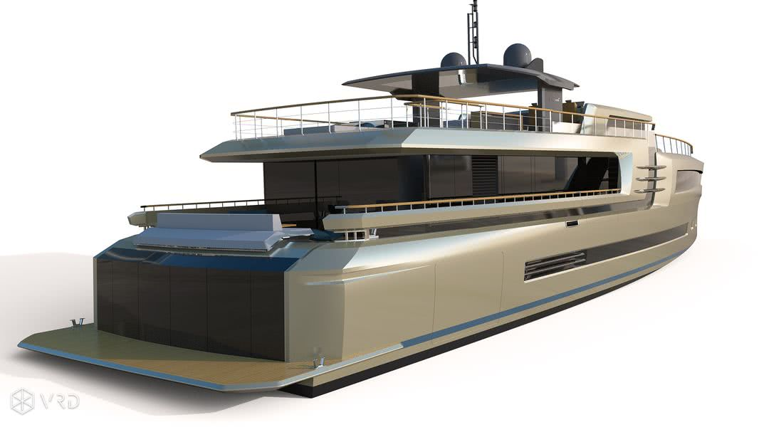 Couach 38m Lounge Collection Motor Yacht Design