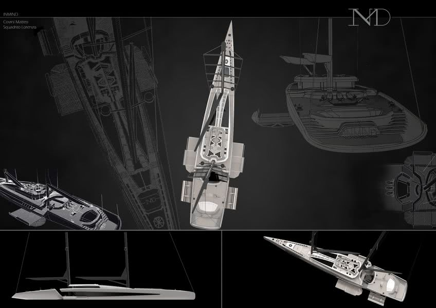 InMind 60m Sailing Yacht Concept