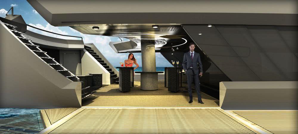 InMind 60m Sailing Yacht Concept Interior