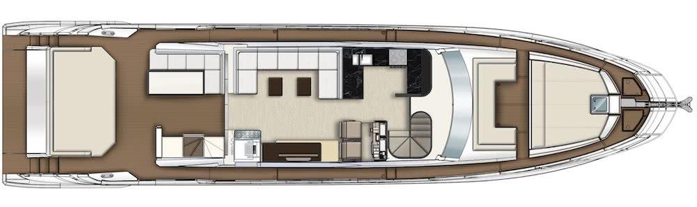 Azimut S7 Carbon Motor Yacht Interior