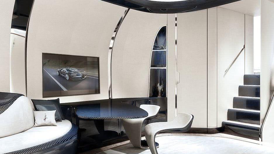Bugatti Niniette 66 Interior Design