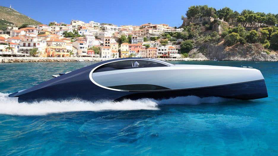 Bugatti Niniette 66 Yacht Design
