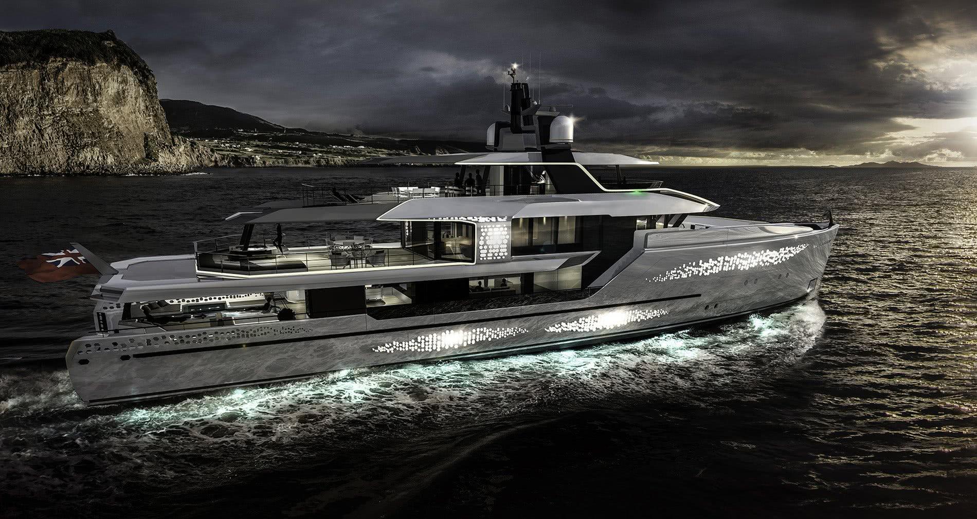 Jongert Revolution Explorer Yacht