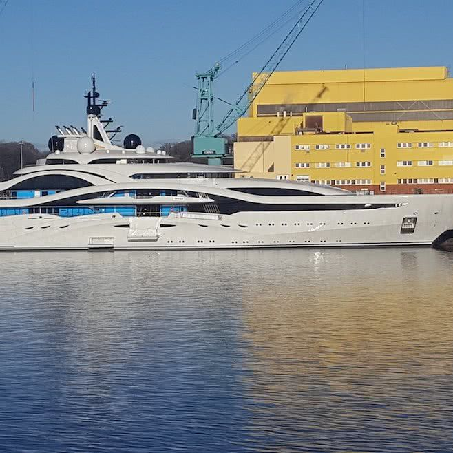 Al Lusail Yacht Lurssen