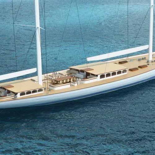 61m Classic Sailing Yacht Reichel Pugh