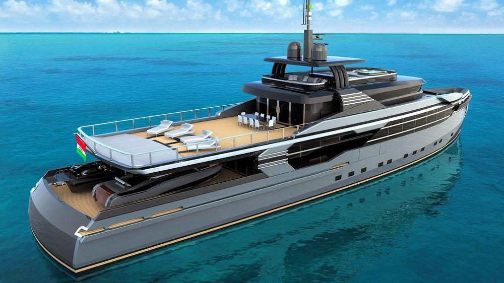 46m Ice-Class Explorer Motor Yacht Design Federico Fiorentino