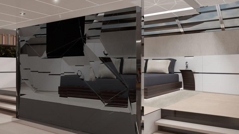 GEMMA 50m Sailing Yacht Interior Design