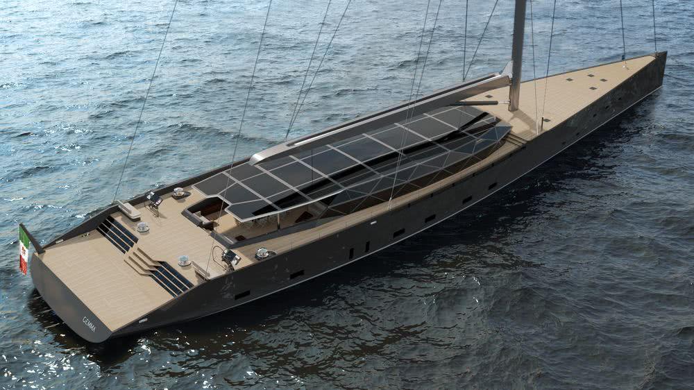 GEMMA 50m Sailing Yacht Antonino Muto
