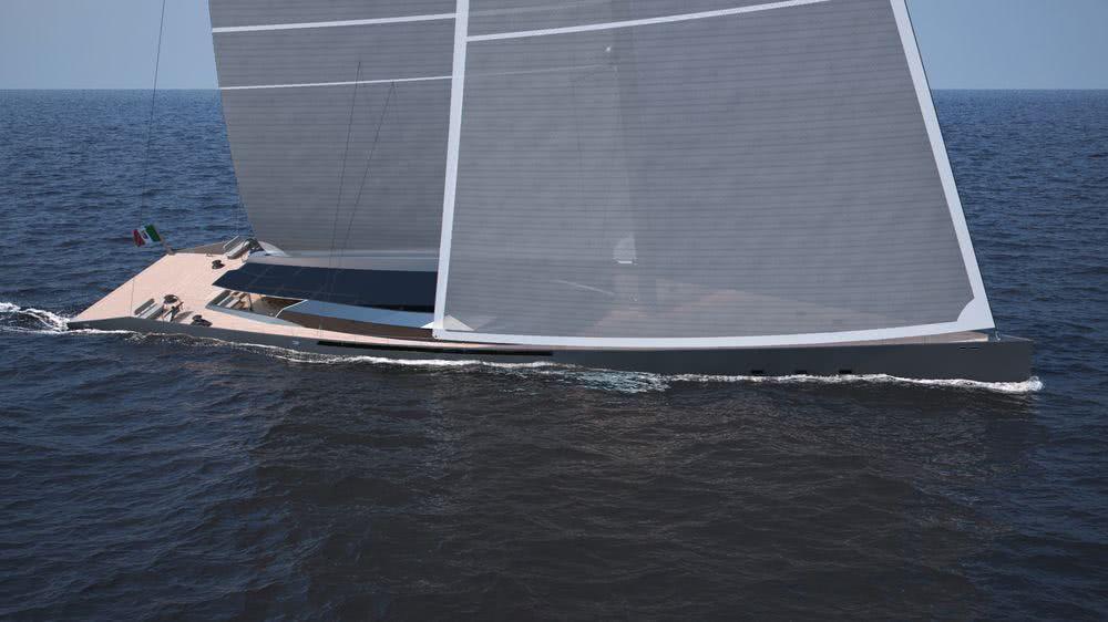 GEMMA 50m Sailing Yacht