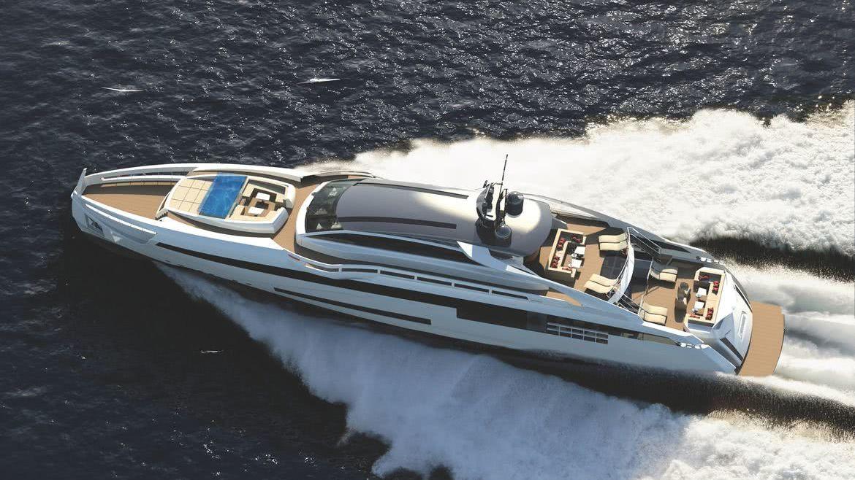 Aurora Yacht Rossinavi