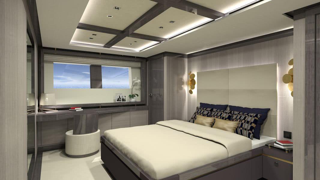 Couach 3700 Motor Yacht Interior Design