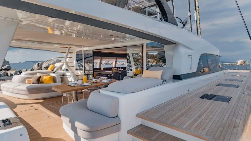 Lagoon Seventy 7 Sailing Yacht Catamaran Interior