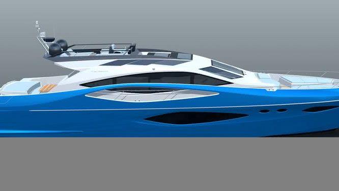 Numarine 78 Flybridge Motor Yacht