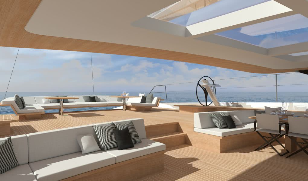 Wally 145 Sailing Yacht Hybrid Propulsion