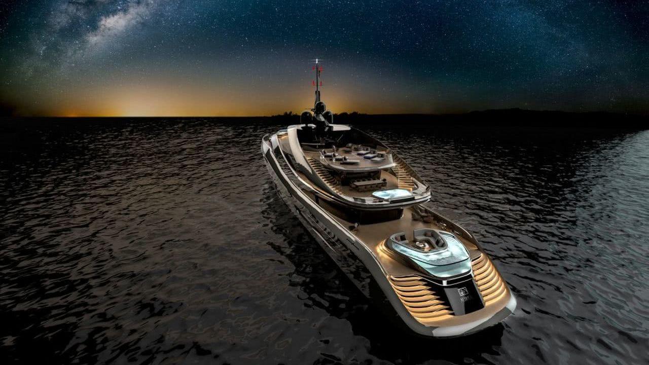 Motor Yacht Design Aurea Rossinavi Pininfarina
