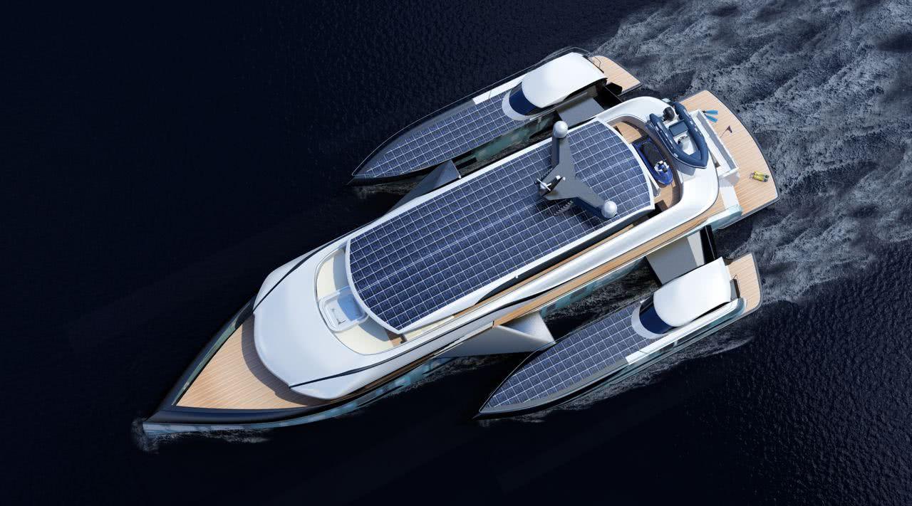 Baikal 36 SMT Trimaran Motor Yacht