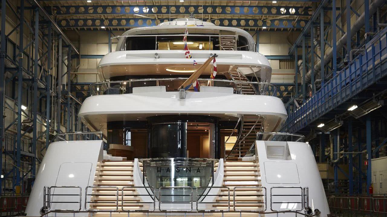 Hasna Yacht Feadship