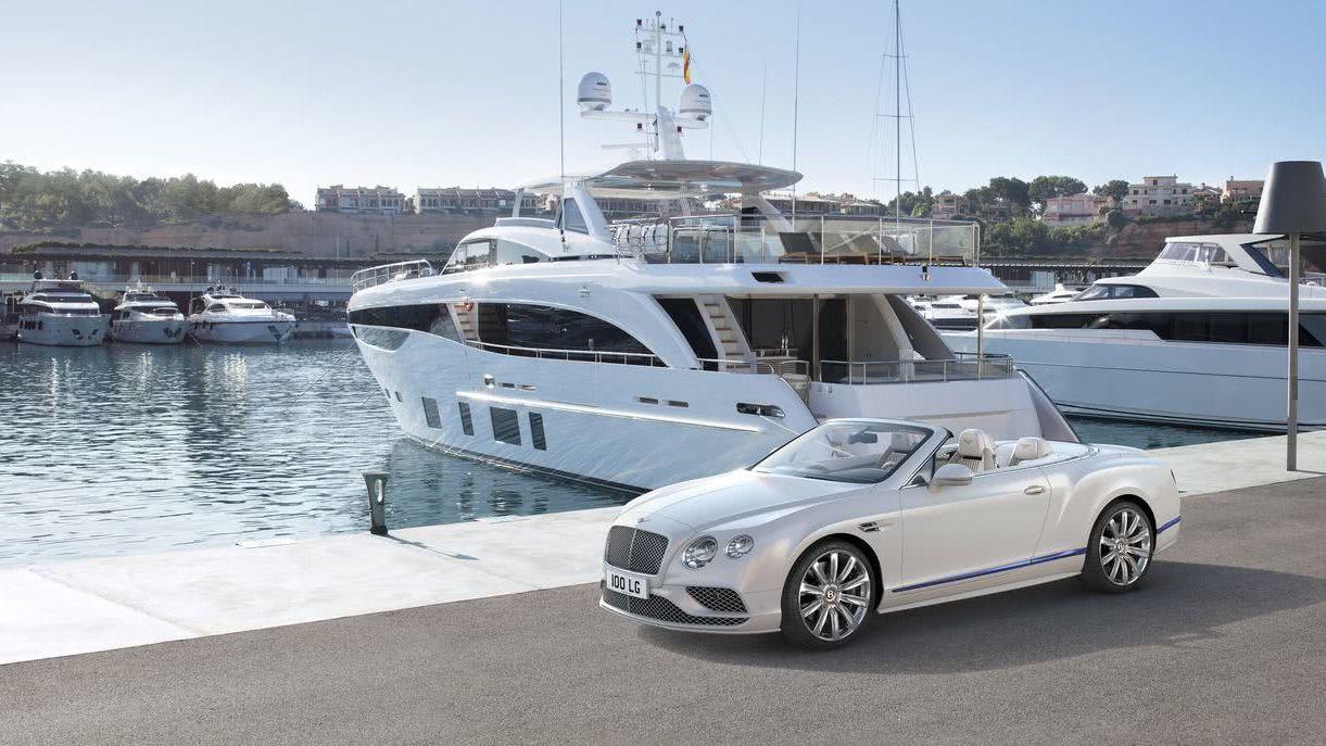 Bentley GT Convertible Yacht Style