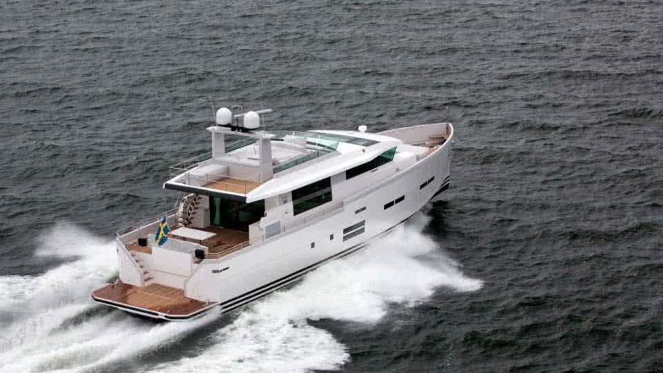 Delta 88 IPS Yacht Lars Modin